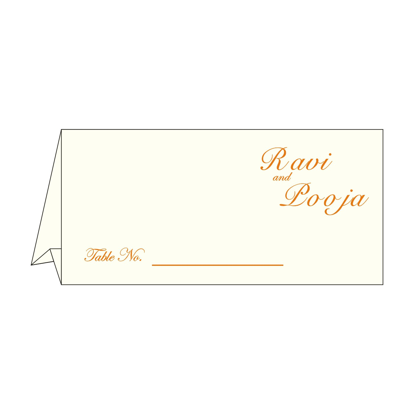 Table Cards : CTC-8252D - IndianWeddingCards