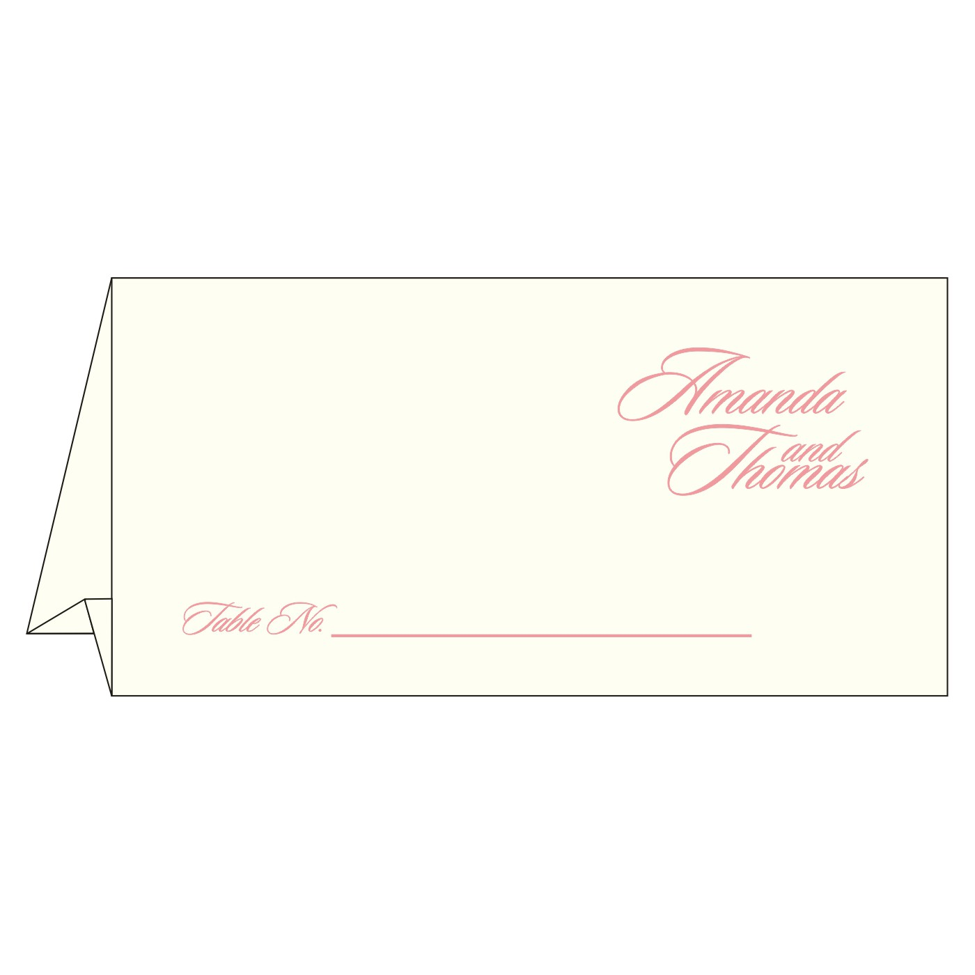 Table Cards : CTC-8252G - IndianWeddingCards
