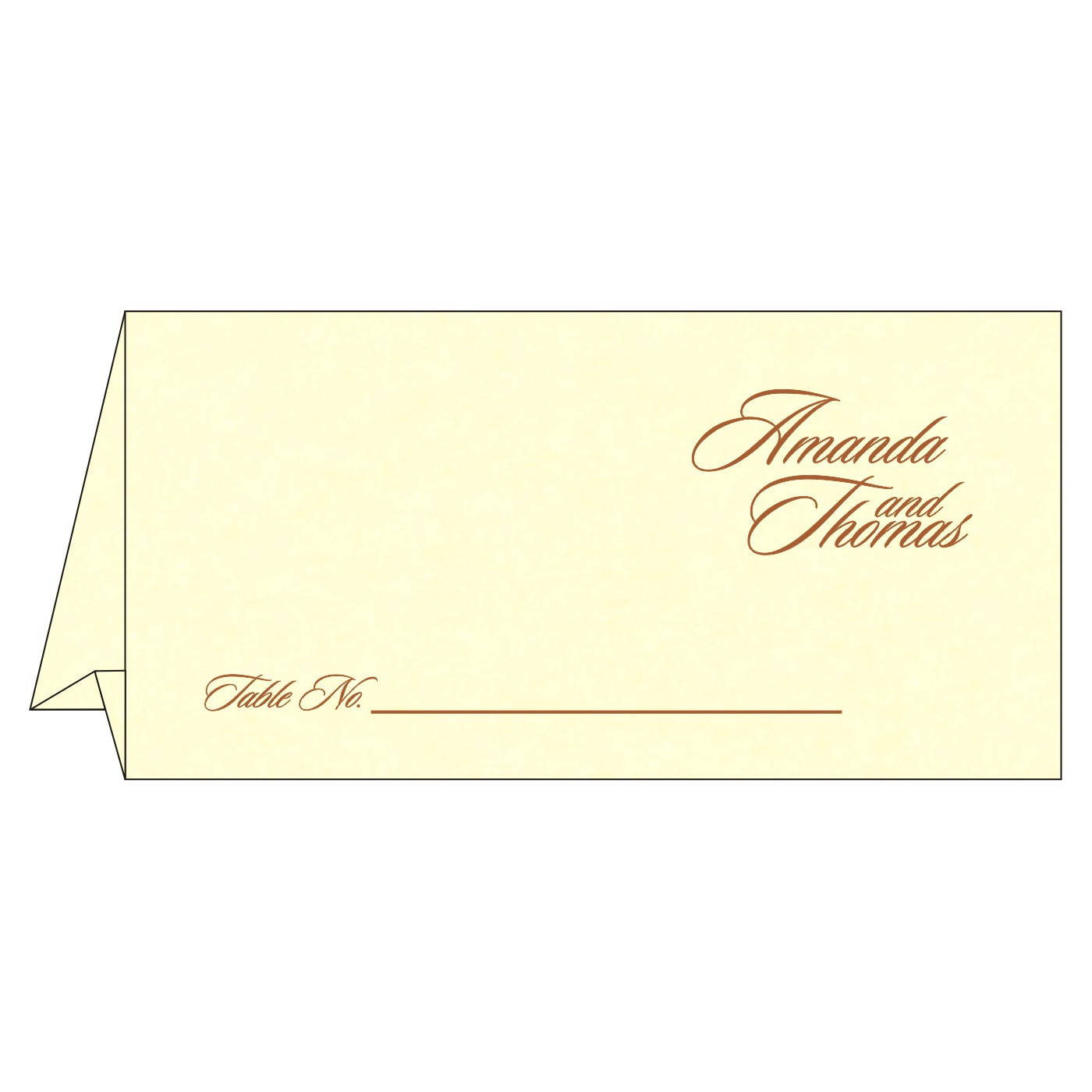 Table Cards : CTC-8253G - IndianWeddingCards