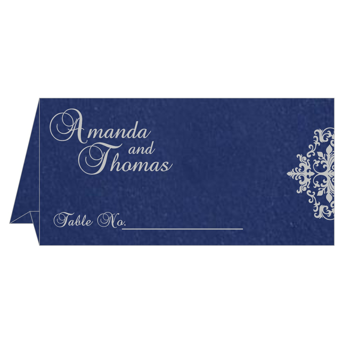 Table Cards : CTC-8254C - IndianWeddingCards