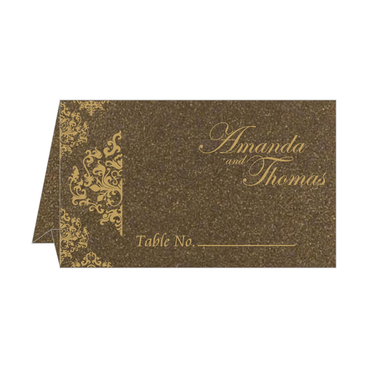 Table Cards : CTC-8254F - IndianWeddingCards