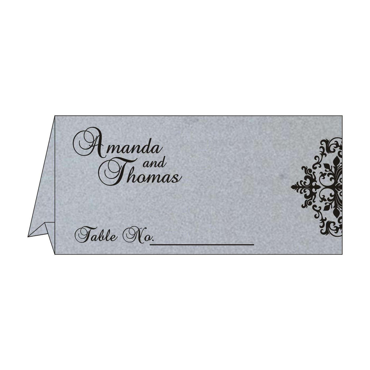 Table Cards : CTC-8254H - IndianWeddingCards