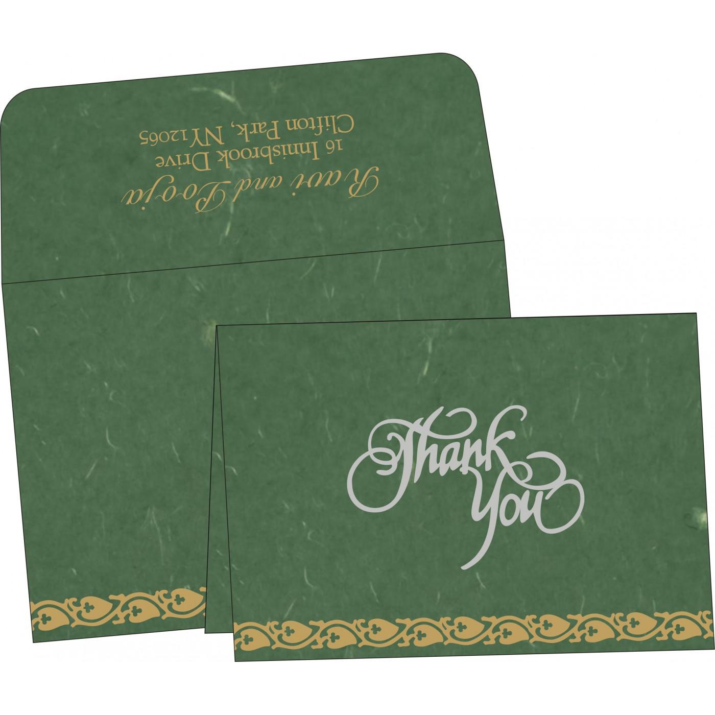 Thank You Cards : CTYC-5005I - IndianWeddingCards