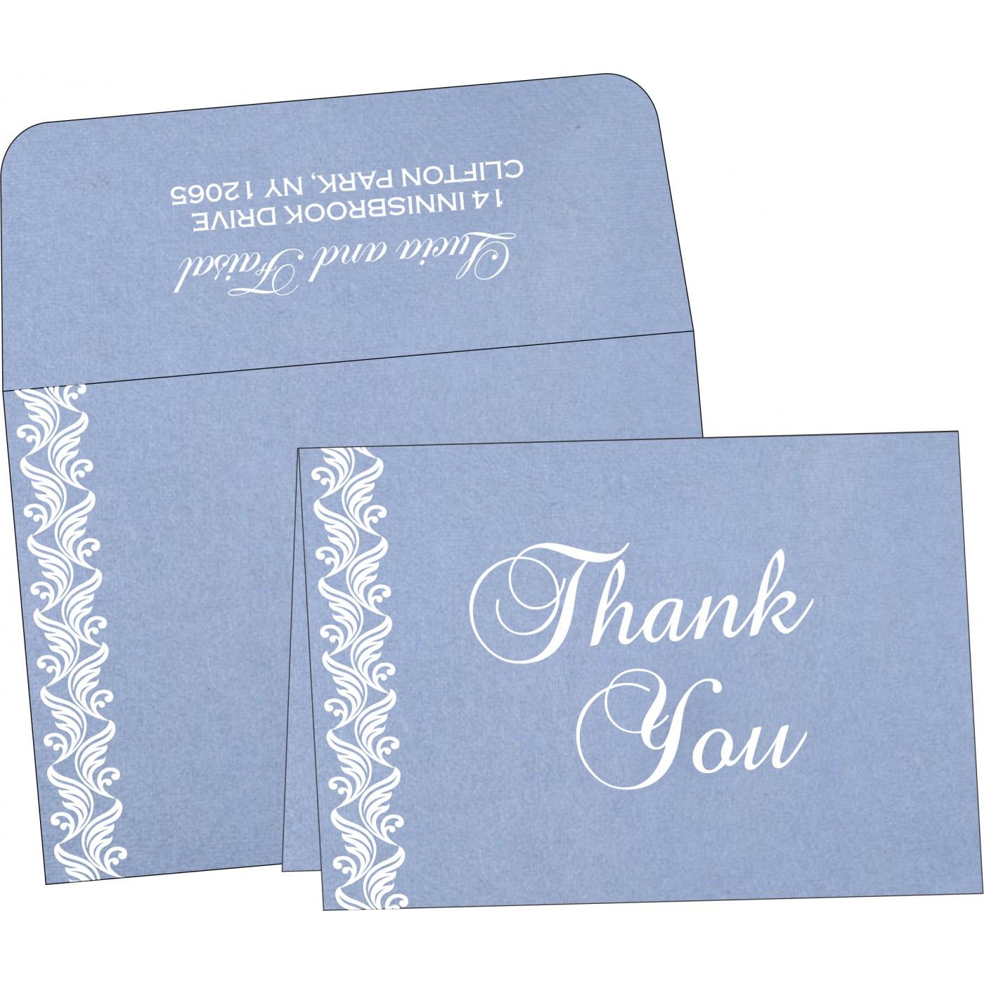 Thank You Cards : CTYC-5007K - IndianWeddingCards