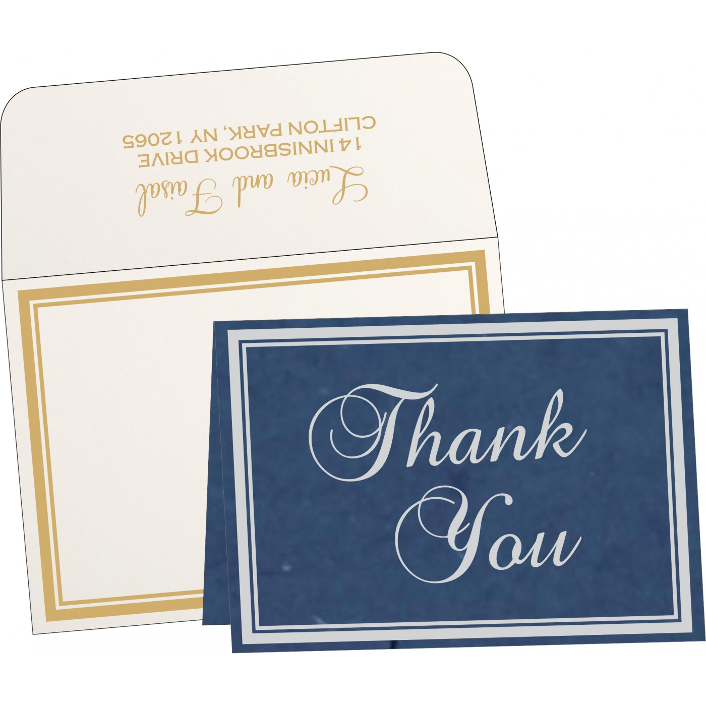 Thank You Cards : CTYC-8203F