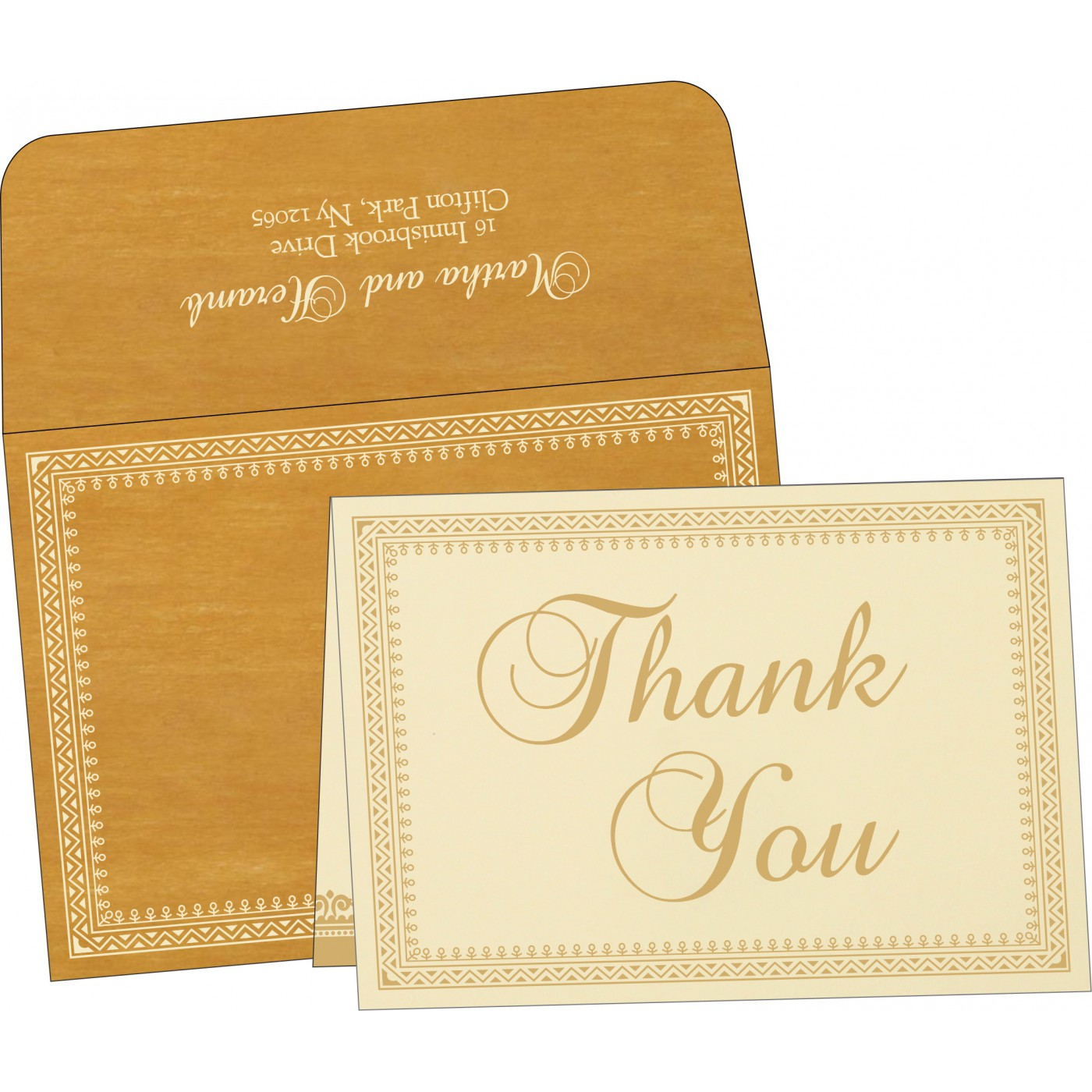 Thank You Cards : CTYC 8205D
