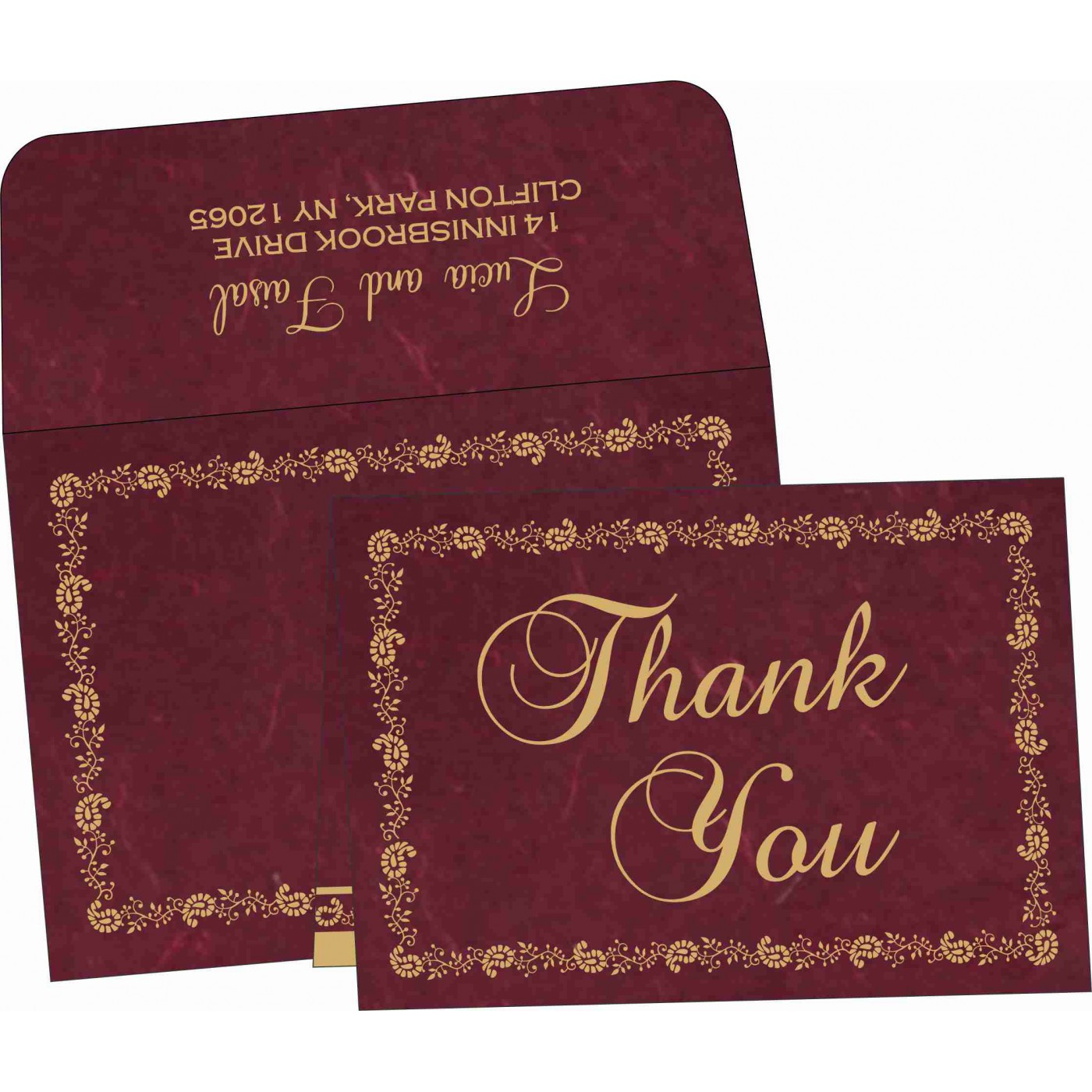 Thank You Cards : CTYC-8208A