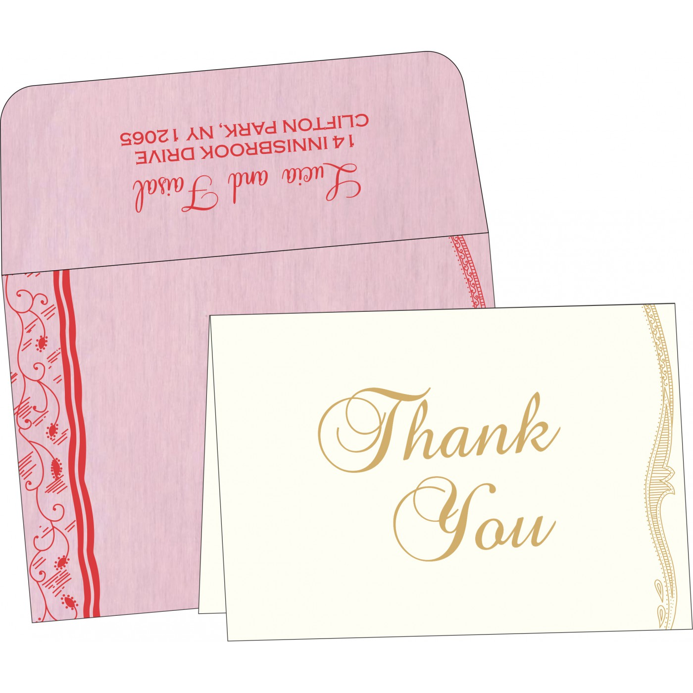 Thank You Cards : TYC-8210B