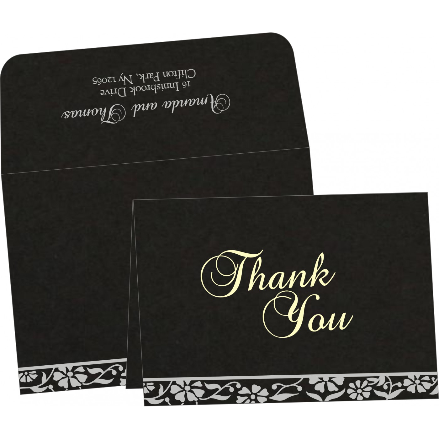 Thank You Cards : TYC-8222J