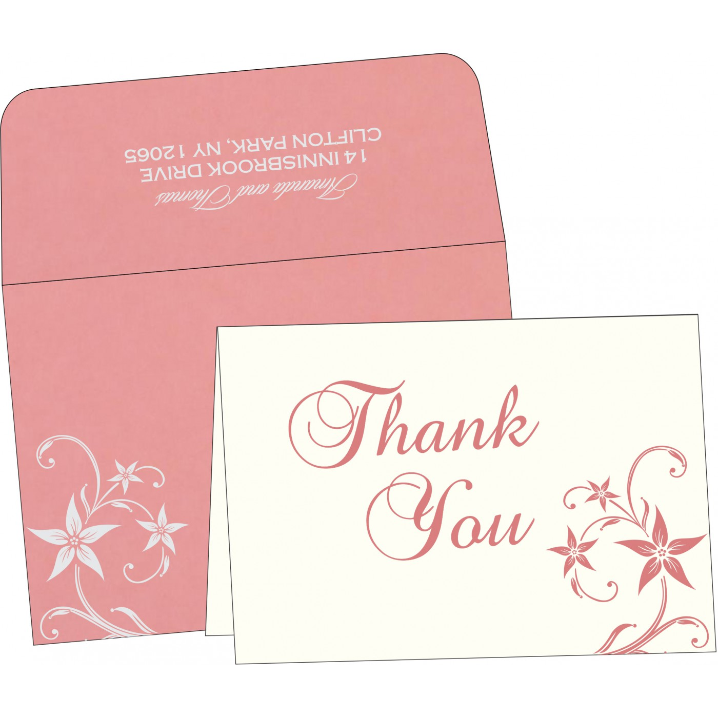 Thank You Cards : CTYC-8225M