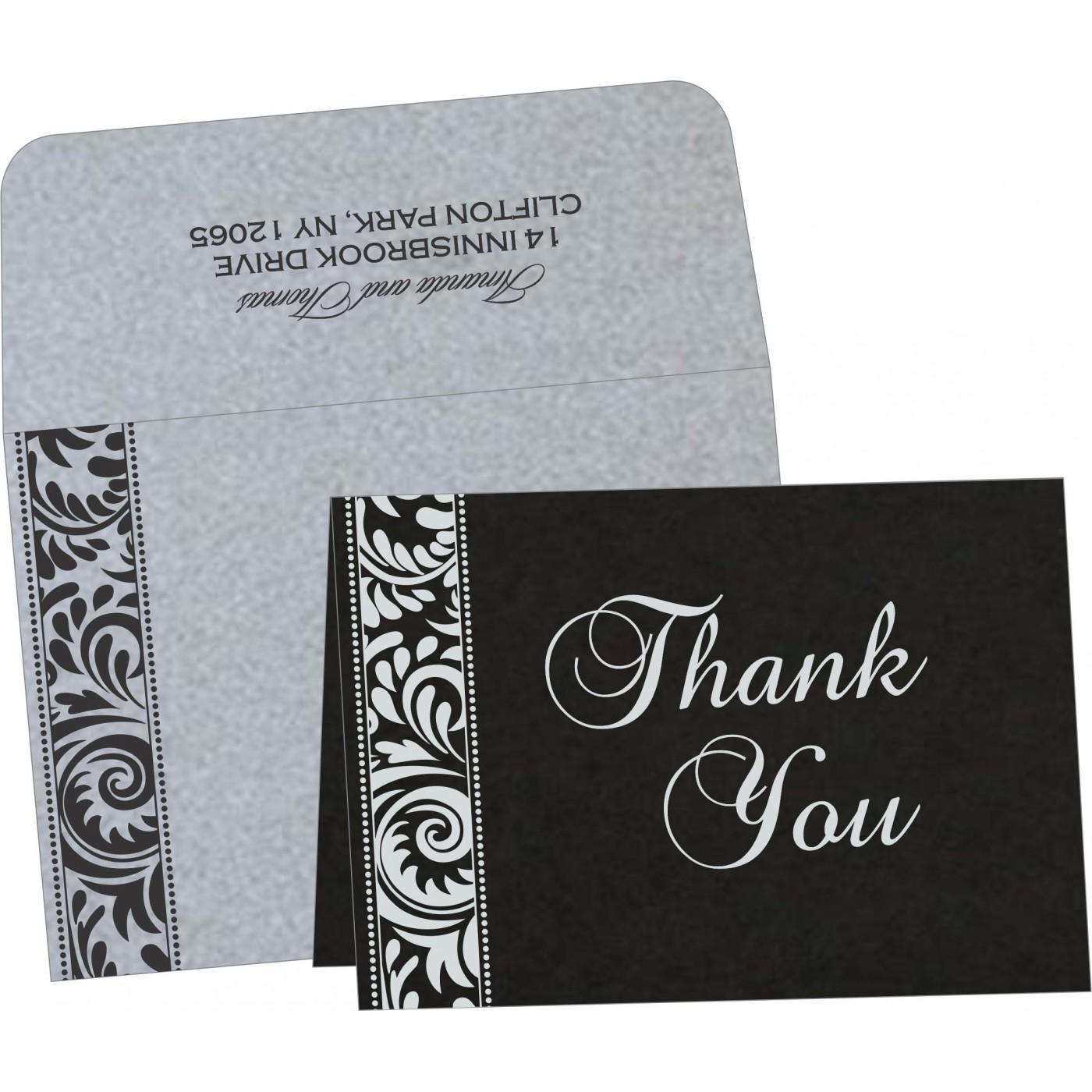 Thank You Cards : CTYC-8235B - IndianWeddingCards