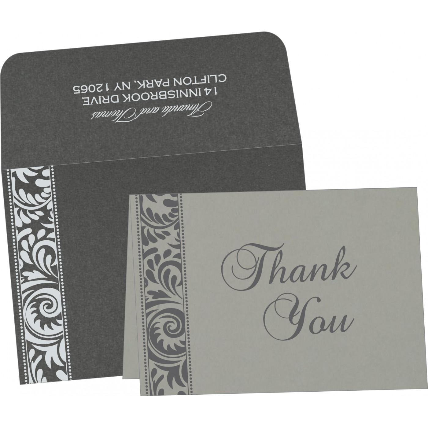 Thank You Cards : CTYC-8235I - IndianWeddingCards