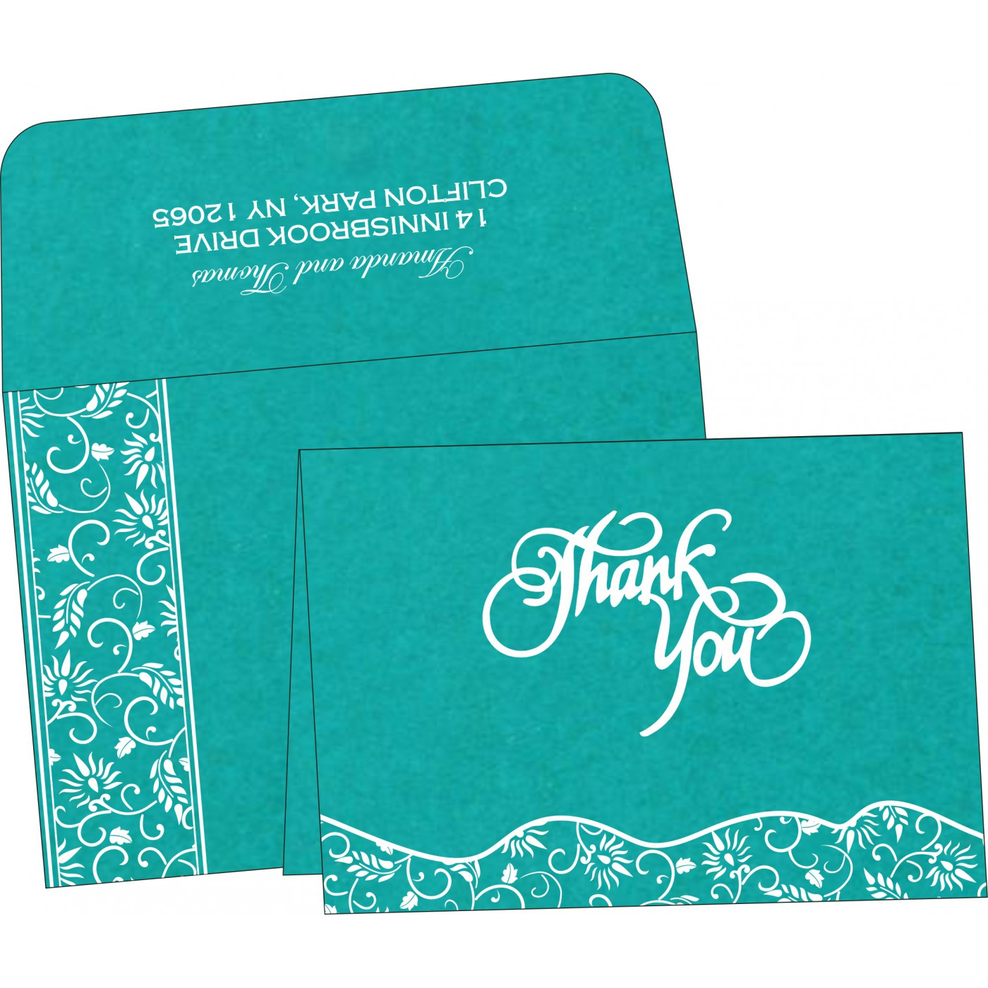 Thank You Cards : TYC-8236J