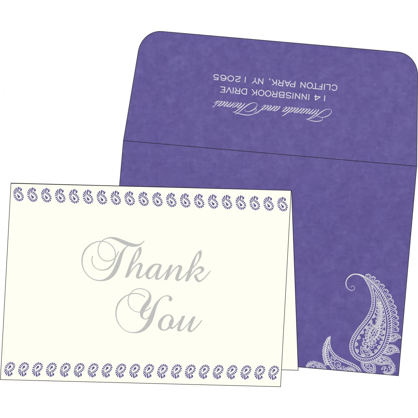 Thank You Cards : CTYC 8252B