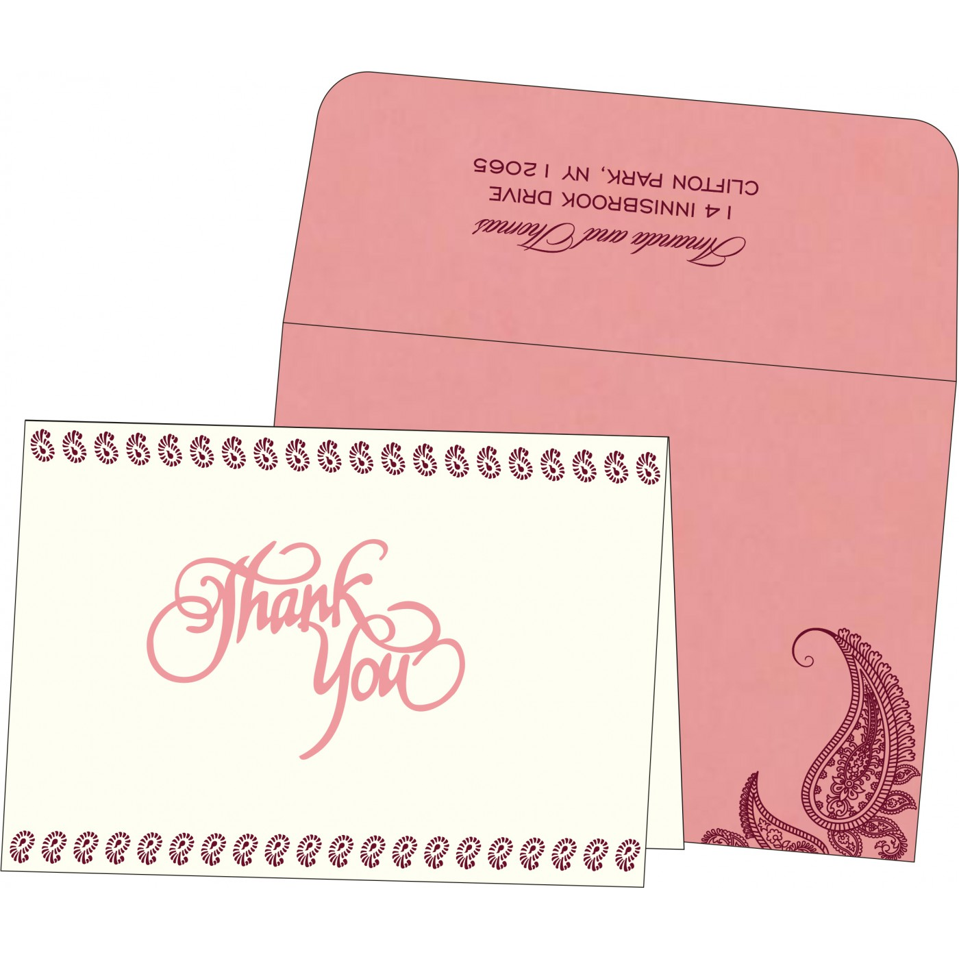 Thank You Cards : CTYC 8252G
