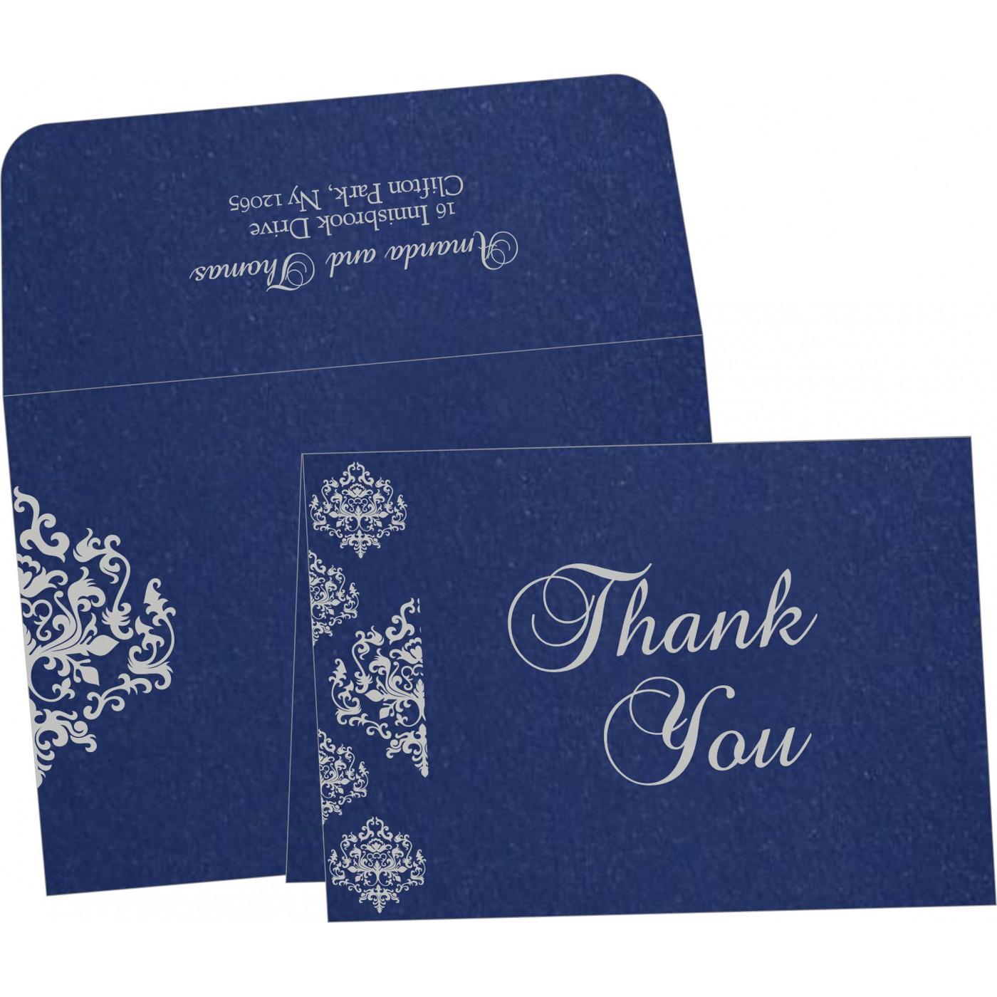 Thank You Cards : CTYC-8254C - IndianWeddingCards
