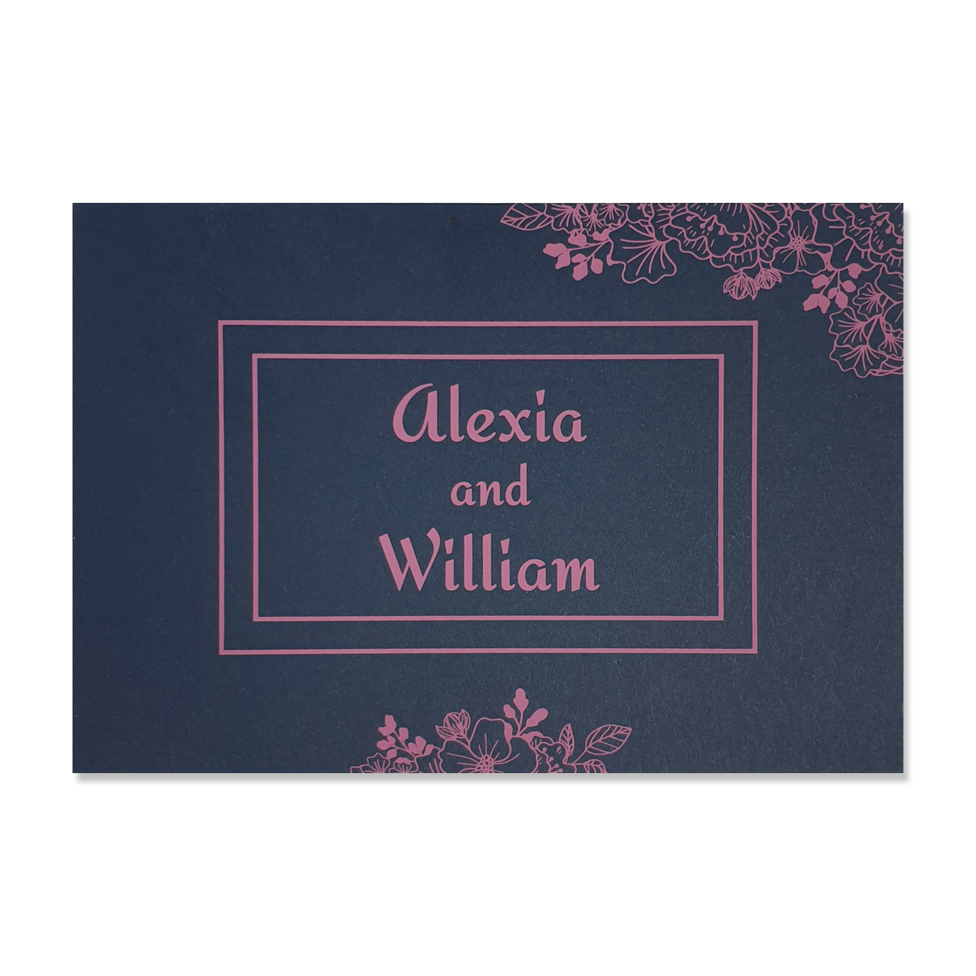 Thank You Cards : CTYC-BLOOM - IndianWeddingCards